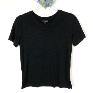 Aritzia Wilfred Free Black T-Shirt XS